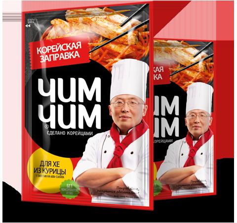 Корейская заправка для хе из курицы 60 гр  4*12