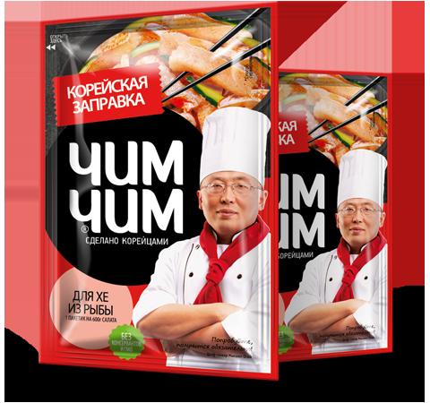 Корейская заправка для хе из рыбы 60 гр  4*12